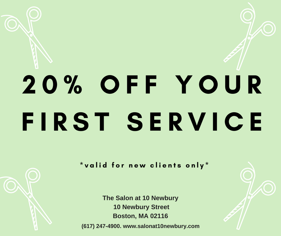 20% Off First Service